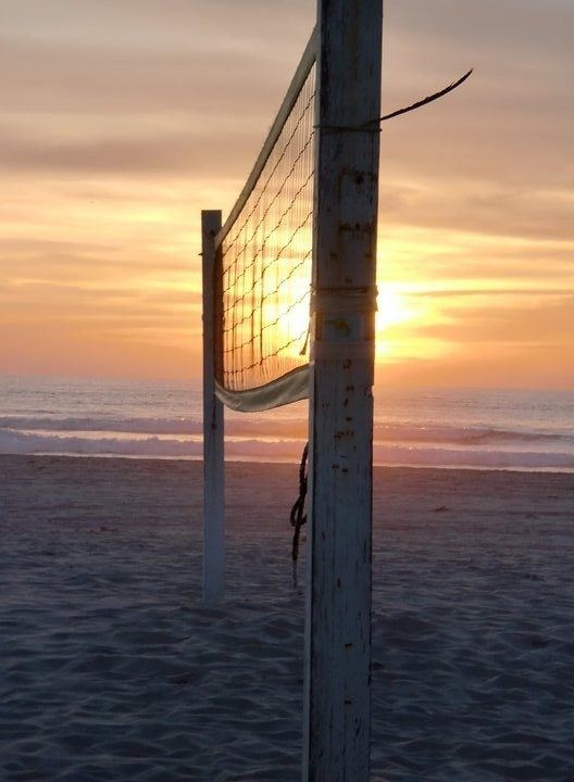 Summertime sand volleyball...I love it.