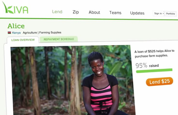 """1 Good Reason you should watch this video from @Kiva - You really get a sense of how you become a part of someones story by making a simple $25 Kiva loan. Kiva is empowering people around the world. They have successfully facilitated over half a billion dollars in loans. Go to """"Visit Site"""" to SEE GOOD BUSINESS."""