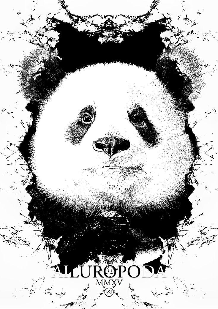 Billede af Panda plakat - Agamemnon Kay
