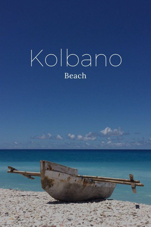 Another story of The Amazing Kolbano beach in NTT. Enjoy :))