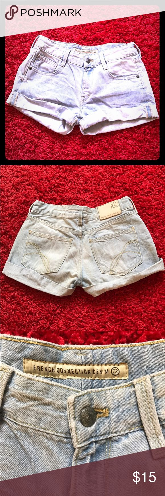 French Connection Shorts Denim Short Denim French Connection Shorts Jean Shorts