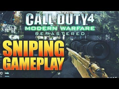 http://callofdutyforever.com/call-of-duty-gameplay/call-of-duty-4-remastered-sniper-gameplay-modern-warfare-remastered-multiplayer-sniping-gameplay/ - CALL OF DUTY 4 REMASTERED SNIPER GAMEPLAY! MODERN WARFARE REMASTERED MULTIPLAYER SNIPING GAMEPLAY!  2000 LIKES! CALL OF DUTY 4 REMASTERED SNIPER GAMEPLAY! COD 4 REMASTERED MULTIPLAYER SNIPING GAMEPLAY! BE SURE TO SUBSCRIBE FOR MORE MODERN WARFARE REMASTERED AND INFINITE WARFARE! ▶Click Here For Free COD Points! – http: