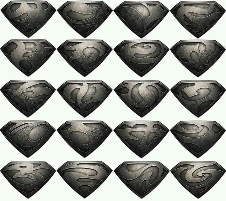 Kryptonian symbols