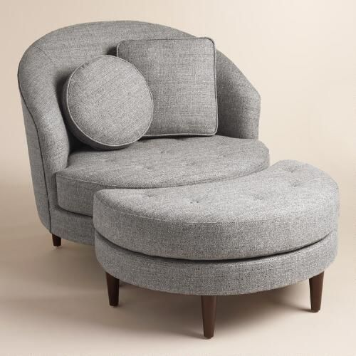 Charming Gray Seren Round Seating Collection