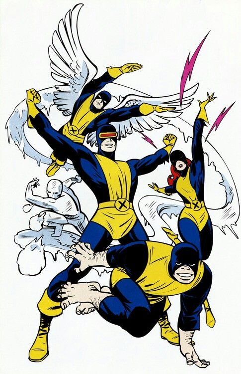 Original X-Men - John Romita Sr.
