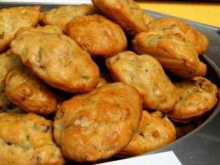 Madeleines noix & oignons
