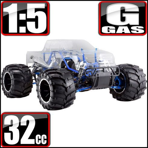 Redcat Racing Rampage MT PRO V3 Gas Monster Truck - JRT Redcat Racing RC