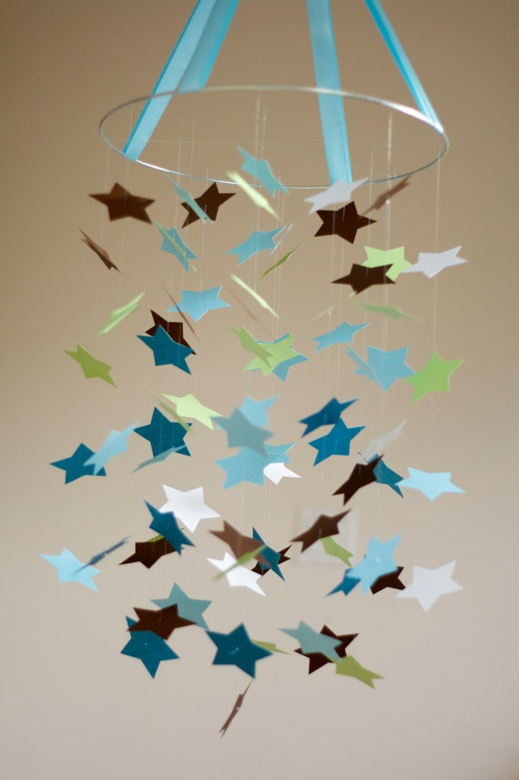 I want to make one of these to hang from the overhead light in my room