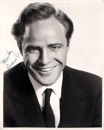 Autograph by Marlon Brando