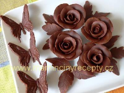 Modelovací čokoláda