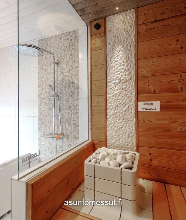 #tulikivi #Nuoska #sauna #saunaheater #integrated #spa #design