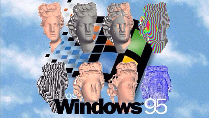 Vapor art by me #windows #95