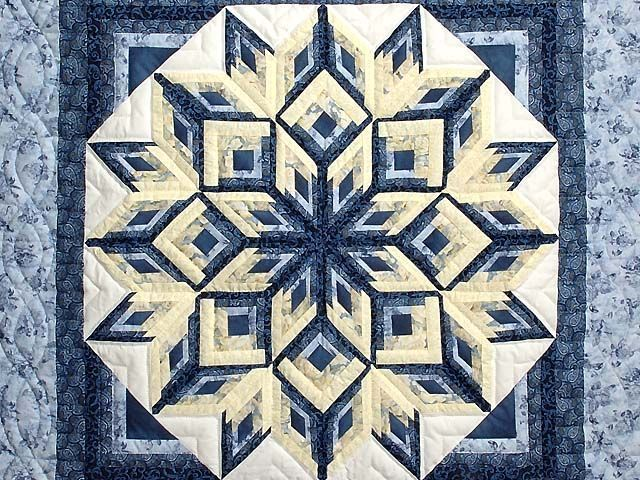 diamond log cabin quilt pattern - Google Search                                                                                                                                                                                 More