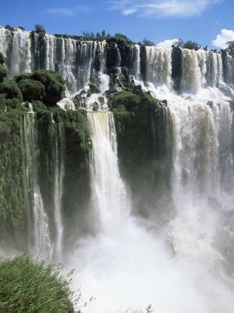 UNESCO World Heritage Site:                                Iguassu Falls, Iguazu National Park, Unesco World Heritage Site, ARGENTINA