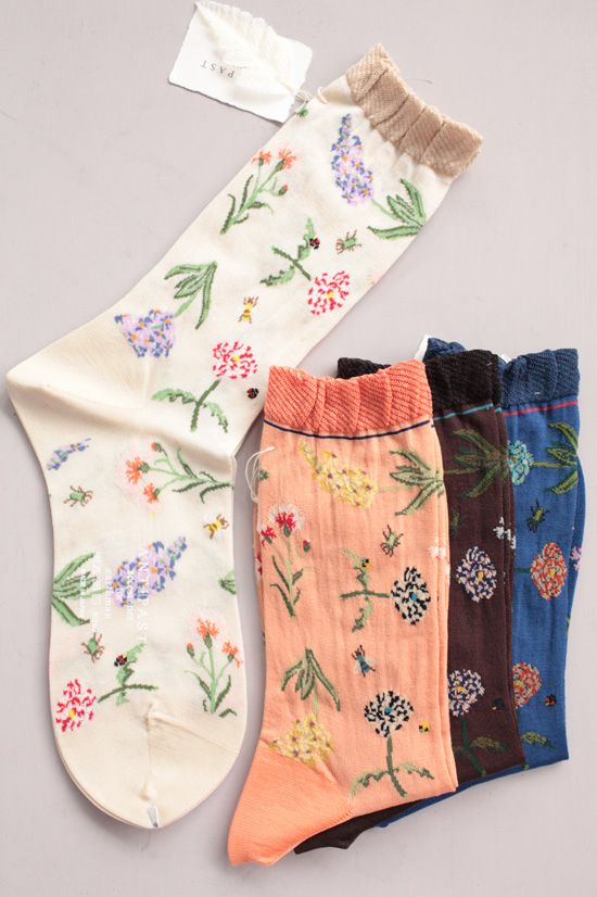 socks that are cute. unfortunately i don't care about socks that much...