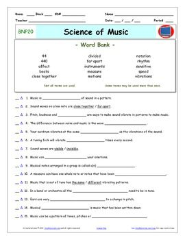 Video Guide, Quiz for Bill Nye - Science of Music ...