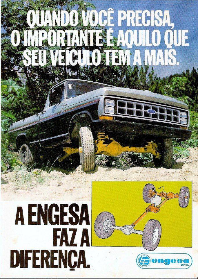 1986 Ford F-1000 4x4 by Engesa - Brasil
