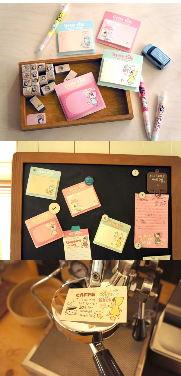 pony brown post-its