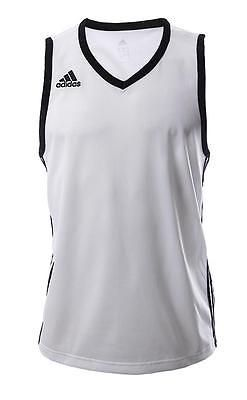 #Adidas mens commander #white basketball vest #g76619 sleeveless small,med,large,,  View more on the LINK: 	http://www.zeppy.io/product/gb/2/301940195146/