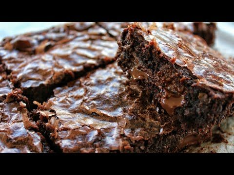 Ζουμερά Brownies Σοκολάτας - The best Fudge Brownies - YouTube