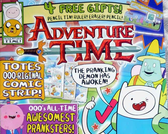 magazine.co.uk adventure time review