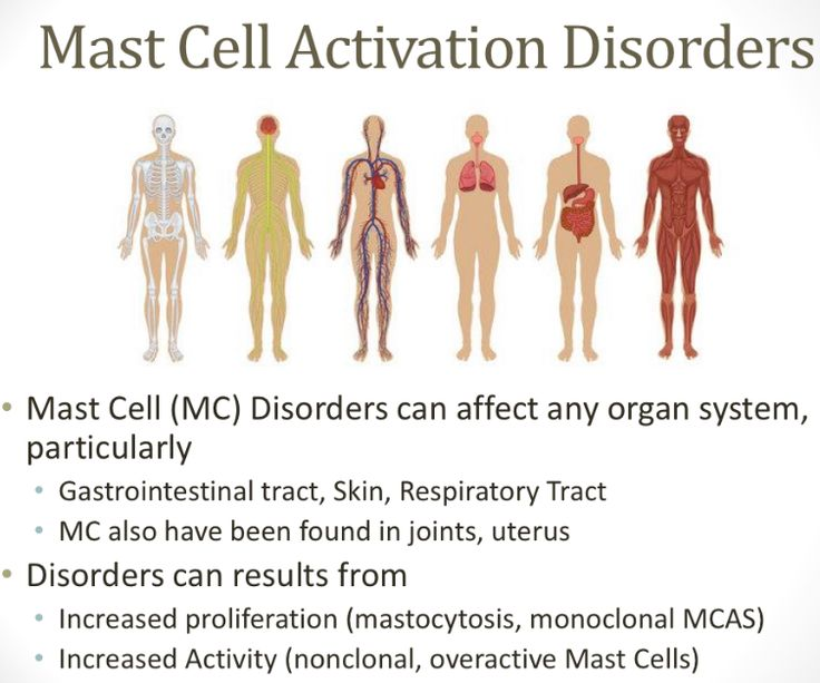 MAST CELL ACTIVATION SYNDROME Anne Maitland, MD, Asst. Professor, Otolaryngology and Medicine