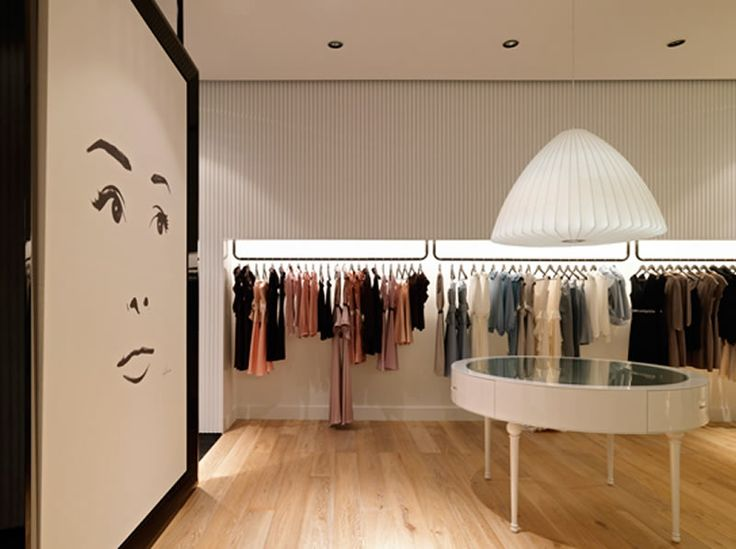 Retail Fashion Boutique Interior Design Of Jayson Brunsdon Store