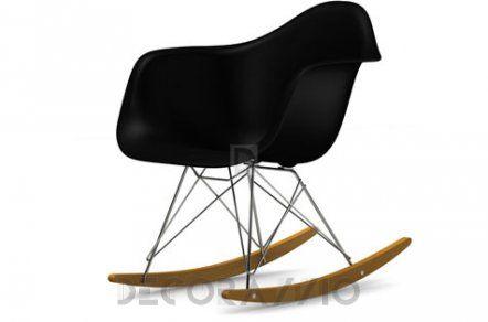 Charles & Ray Eames кресло-качалка Vitra Eames, Eames Plastic Armchair RAR 1