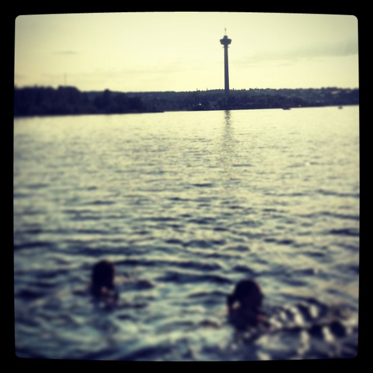 Swimming in Lapinniemi, Tampere, Finland. #tampereblog #tampereallbright