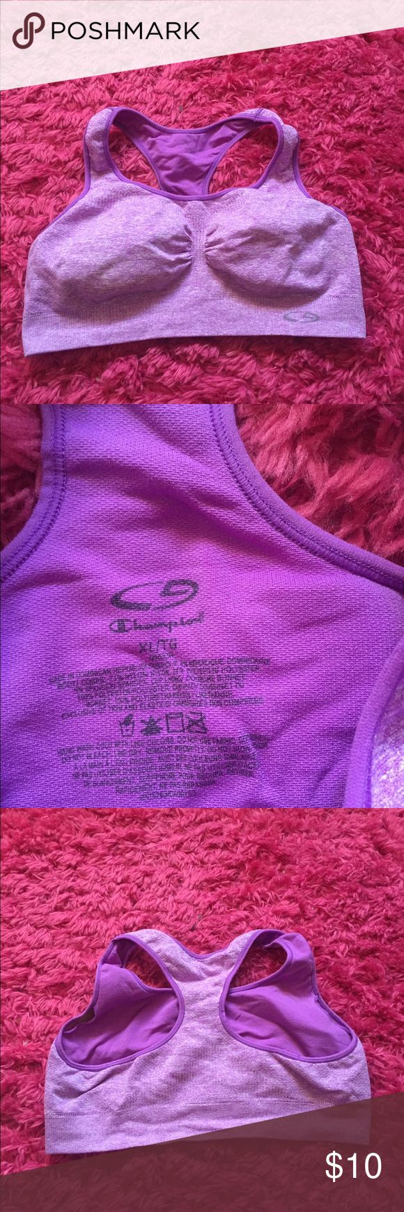 Champion Sports Bra! ☺️ I've only worn this a handful of times. It does have padding in it! Got it from target. Champion Intimates & Sleepwear Bras