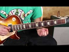 ▶ Blues Guitar Lessons - Style of Jesus Left Chicago - ZZ Top Inspired - Blues Rock Guitar Lesson - YouTube
