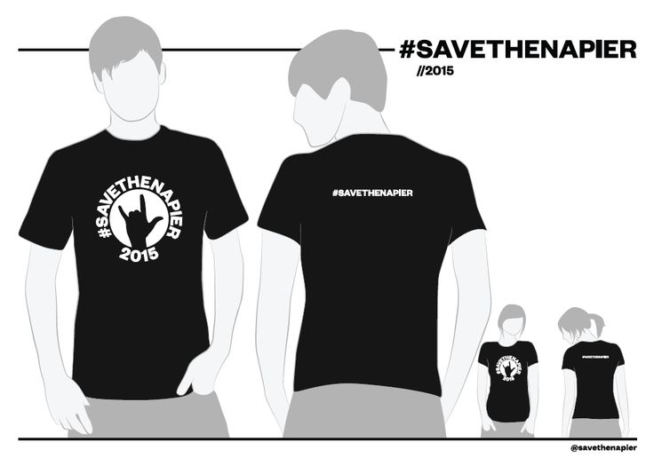 SAVETHENAPIER 2015 Limited Edition T-Shirt | Save the Napier