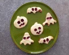 Biscuits pour halloween Ingrédients