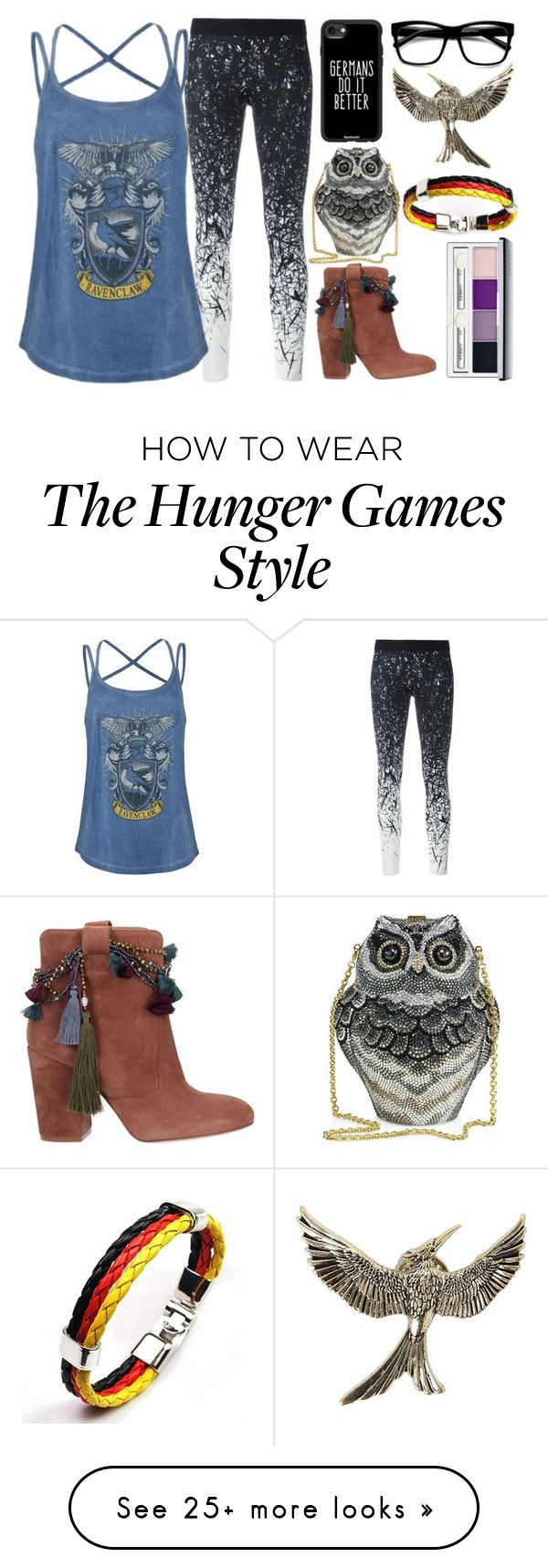 """""""Louisa"""" by lottie2004 on Polyvore featuring Reebok, Casetify, Strategia, Judith Leiber, Hot Topic, Clinique, ravenclaw and germany"""