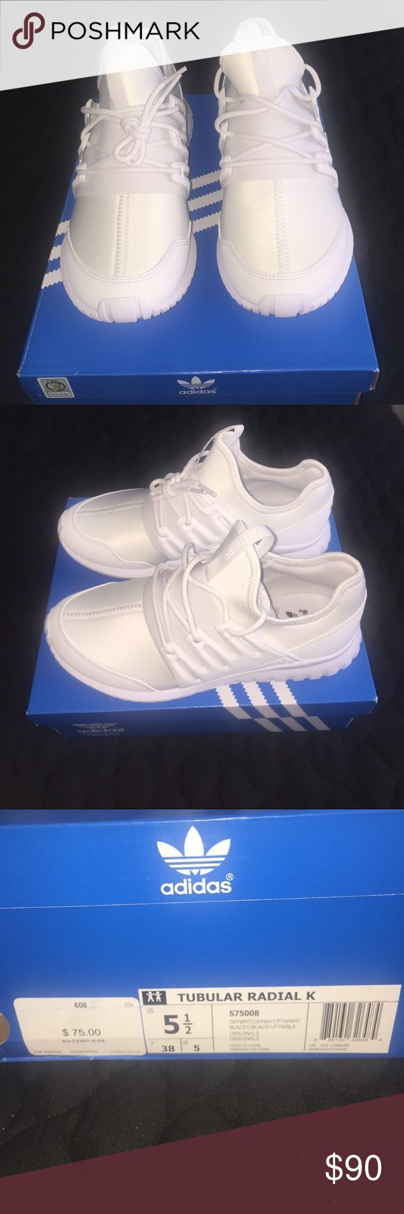 adidas Originals TUBULAR X PK Sneaker high white Zalando