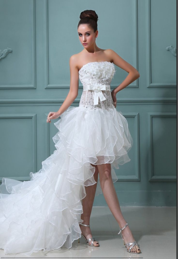 448 best Wedding dresses images on Pinterest | Homecoming dresses ...