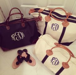 marley lilly! Absolutely LOVE the weekender since I got it. Life saver for a carry on. Lots of compliments on it too:)