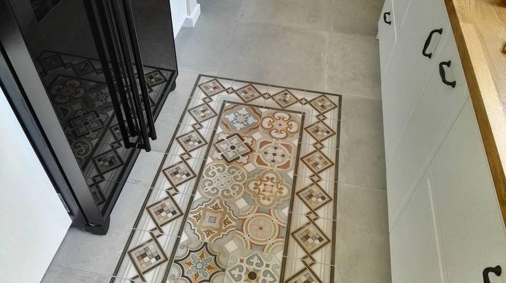 Konstancin - kitchen, floor, scandinavian design