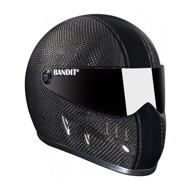 #Bandit #XXR #Carbon #Fiber #Motorcycle #Helmet Buy yours on: www.helmade.com
