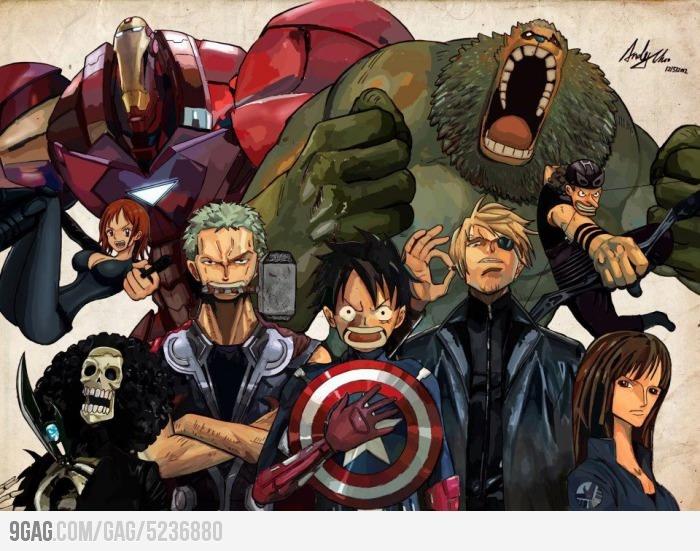 One Piece Avengers!