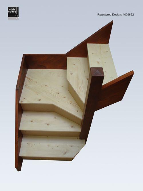 Картинки по запросу narrow angle attic stairs plans