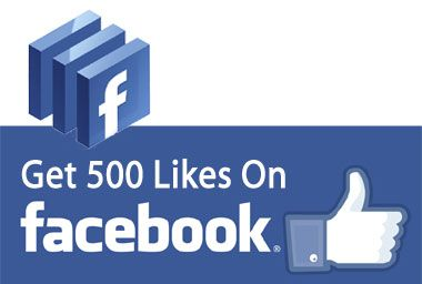 500 Facebook Likes to Fanpage $20 Might as well fake it also. $20 isn't bad! Lol