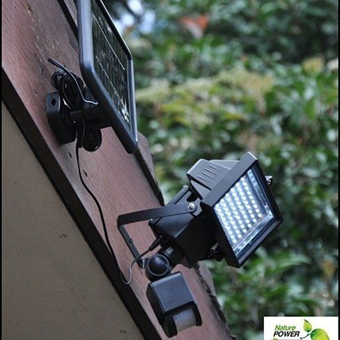 hiline products ultrabright wireless solar flood light