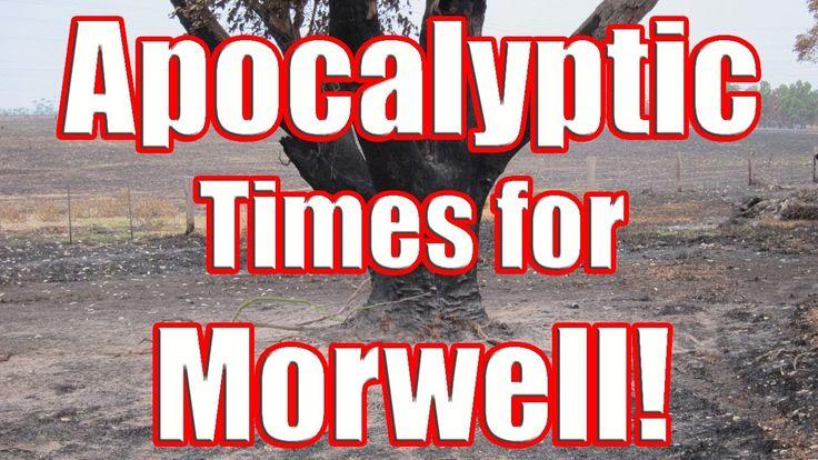 Apocalyptic Times for Morwell - Hazelwood Open Cut Fire sends Dangerous Smoke Feb 2014