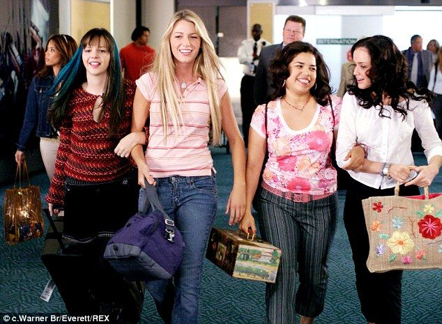 Image result for sisterhood of the traveling pants wearing the pants