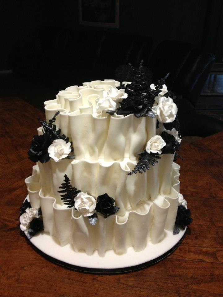 Wedding Cake By Creations Narelle Ipswich Queensland Australia You
