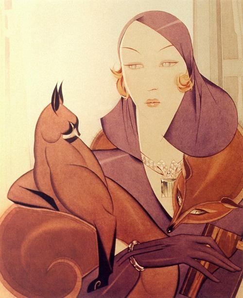 Альберто Варгас, Картины в стиле Ар нуво (модерн) и Ар деко - Ярмарка Мастеров - ручная работа, handmade