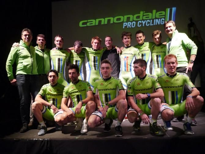 Gallery: Cannondale's rock and roll team presentation - The Cannondale team