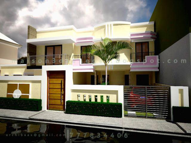 Moderne House 3d Senegal Maison 3d Senegal