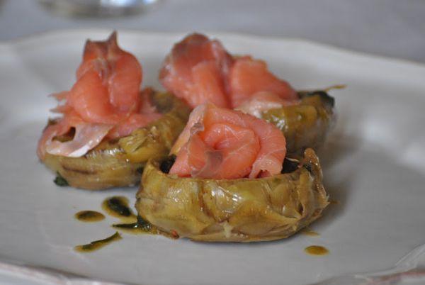 ricette antipasti carciofo - antipasto con carciofi di sicilia